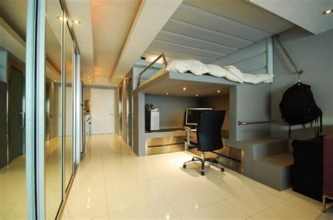 lit bureau adulte lit mezzanine adulte pour l 39 aménagement du petit appartement
