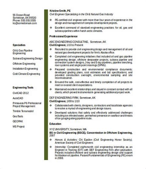 keys  civil engineering resume