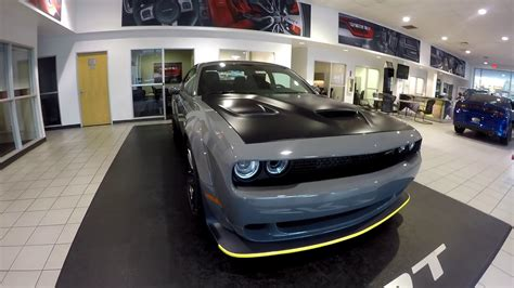 widebody hellcat destroyer gray youtube