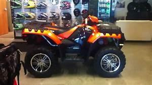 2012 Polaris Sportsman 550 Eps Orange Madness Le