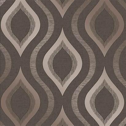 Geometric Rose Grey Bronze Quartz Fine Metallic