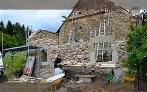 Construction En Pierre : construction maison en pierre apparente maison fran ois ~ Premium-room.com Idées de Décoration