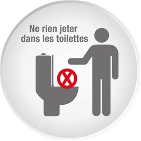affiche ne rien jeter dans les toilettes panneau ne rien jeter dans les toilettes sin189
