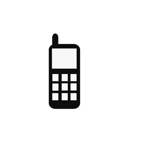 vector icon cell phone   icons  png backgrounds