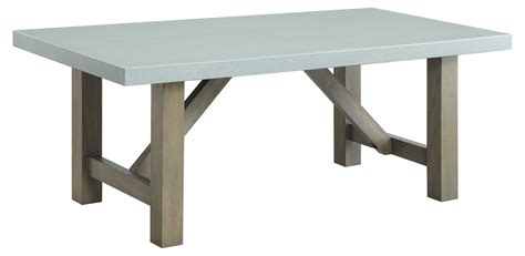 concrete top end table concrete top coffee table from coaster 704248 coleman