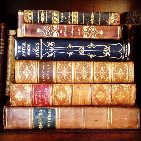 poetry in antique books www bookdecor com book decor