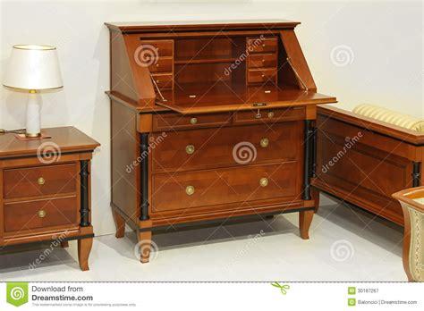 Secretary Desk Royalty Free Stock Photography
