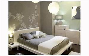 decoration murale chambre youtube With deco chambre adulte peinture