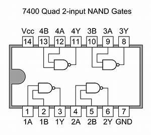 File 7400 Quad 2-input Nand Gates Png