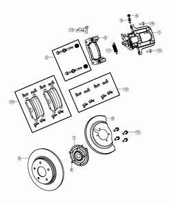 2019 Dodge Grand Caravan Rotor  Brake  Rear  Magneti