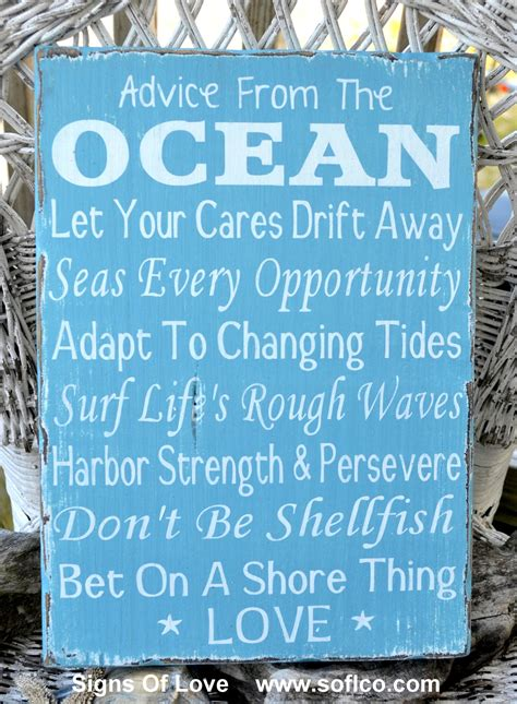 Advice From The Ocean Love Wood Sign From Soflcom  Quick. Compatible Signs Of Stroke. Consultation Room Signs Of Stroke. Aquarius Man Signs. Golf Course Signs Of Stroke. June 21 Signs Of Stroke. Bicultural Mama Signs Of Stroke. Fall Signs. Horus Signs Of Stroke