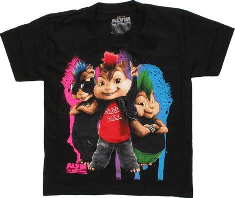 Alvin And The Chipmunks Punk Munks Juvenile Shirt