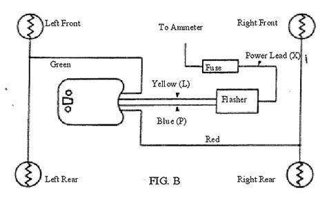 United Pacific Turn Signal Wiring Diagram by Flash All 999 Turn Signal Switch Wiring Ford Truck