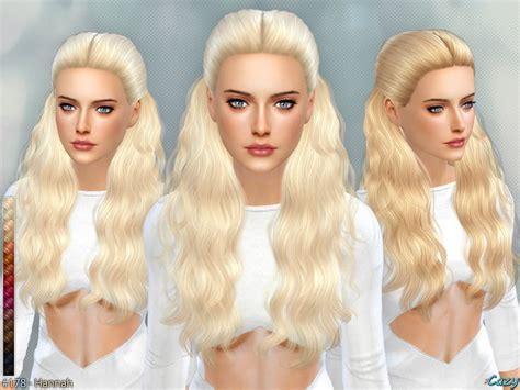 hairstyle  female teen  elder   tsr