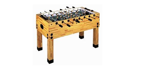 Foosball Table  Butcher Block • Aaa Billiards Of