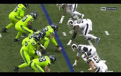 Football Tossing Bodies Seahawks Takeaways Rams Thursday