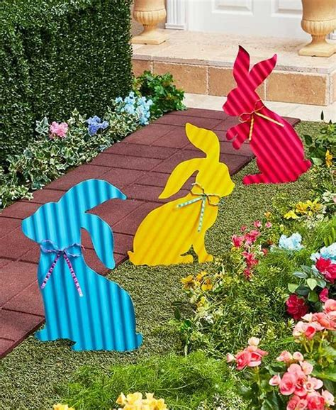 Front Yard Garden Decoration by Top 22 Cutest Diy Easter Decorating Ideas For Front Yard