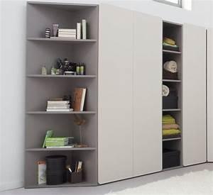 Rangement Pour Chambre : chambre coucher fille meubles de rangement chambre ~ Premium-room.com Idées de Décoration