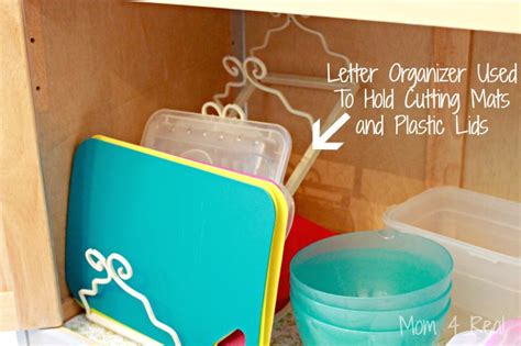 plastic lid organizer kitchen simple and inexpensive kitchen storage ideas 4 real 4275