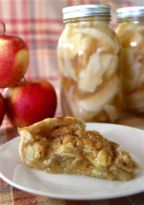 Homemade canned caramel apple pie fillingcountry mouse city. Canned Apple Pie Filling & Dutch Apple Pie Recipe - Gather ...
