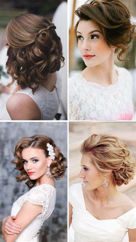 bride short hair ideas  pinterest wedding