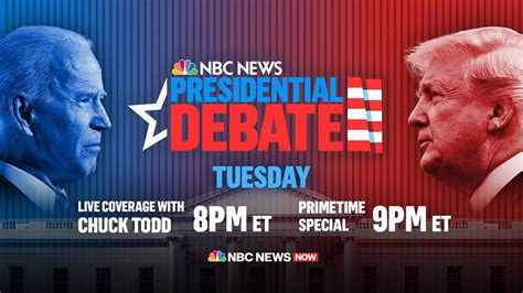 First Presidential Debate Of 2020 Election | NBC News NOW ...