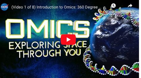 introduction  omics  degree view   nasa genelab