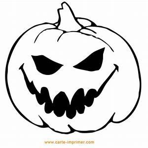 Dessin Citrouille Facile : photo modele citrouille d halloween a imprimer ~ Melissatoandfro.com Idées de Décoration