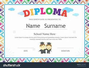 Certificate Template For Pre Images  Certificate design and template