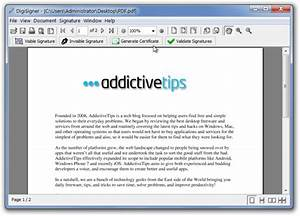 Digitally sign pdf documents free free software and for Free document signing software