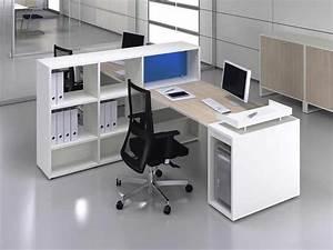 Bureau Avec Rangement : bureaux openspace i ~ Teatrodelosmanantiales.com Idées de Décoration