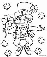 Leprechaun Coloring Pages Printable Print Printables Cool2bkids sketch template