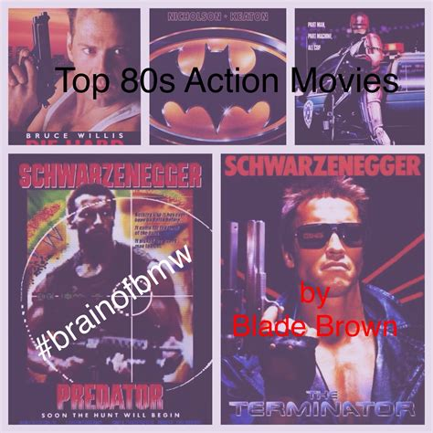 Flashback Friday Top Ten 80s Action Movies By Blade
