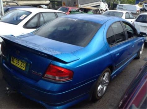 wrecking  ford ba falcon xr turbo  spoiler ford