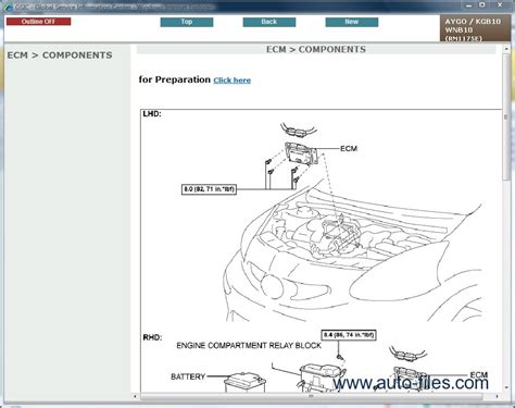 toyota aygo repair manuals wiring diagram electronic parts catalog epc