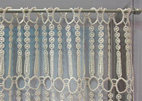macrame rideau cuisine petit rideau macramé pille petit rideau prêt à poser