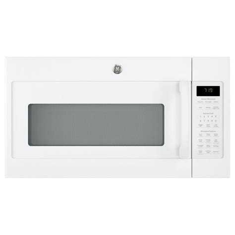 ge microwave with vent fan ge 1 9 cu ft over the range sensor microwave oven with