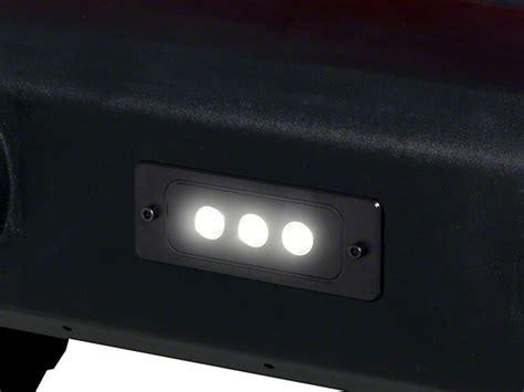flush mount led light bar putco f 150 6 in luminix high power 3 led flush mount