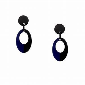 Blau Und Schwarz Kombinieren : inastyle i perfekt f r abends steckerohrring otella in schwarz und blau ~ Buech-reservation.com Haus und Dekorationen