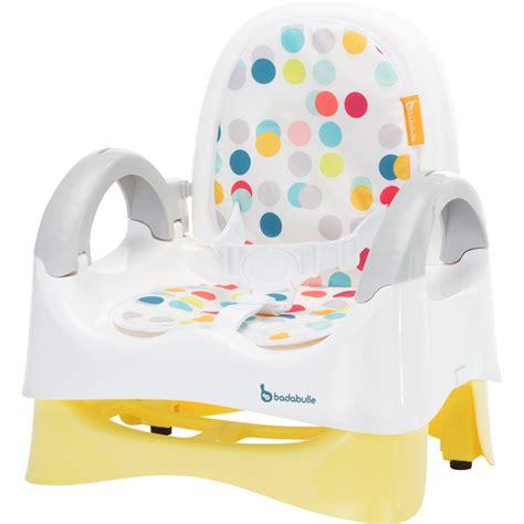 réhausseur chaise badabulle réhausseur de chaise confort confetti jaune de badabulle