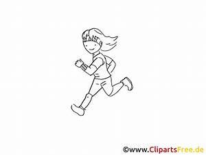 Comic Figuren Schwarz Weiß : joggen zeichnung schwarz weiss bild clipart comic ~ Watch28wear.com Haus und Dekorationen