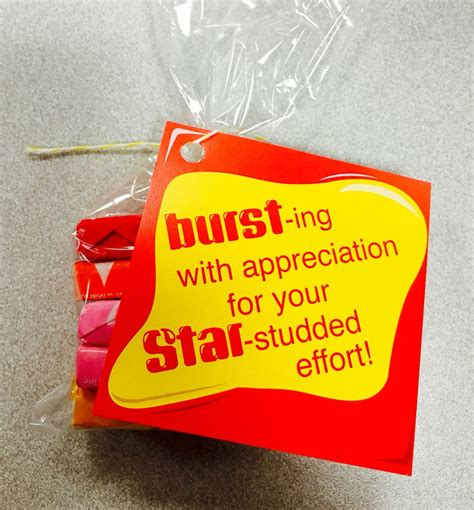 buy employee anniversary from china quot bursting with appreciation for your studded effort
