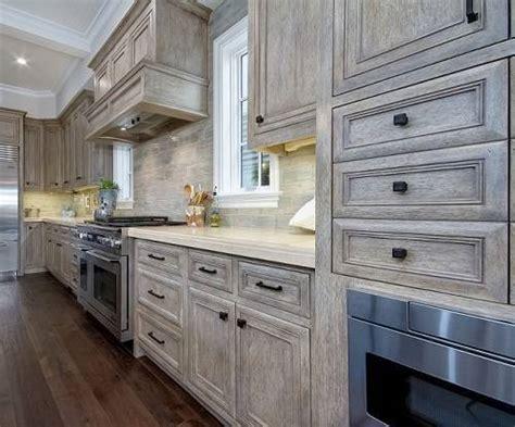 Idea Kitchen Island - 15 gorgeous grey wash kitchen cabinets designs ideas