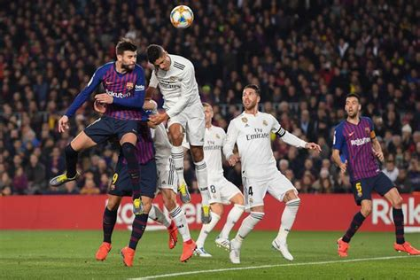 Barcelona vs Real Madrid: Holders held to 1-1 draw in Copa ...