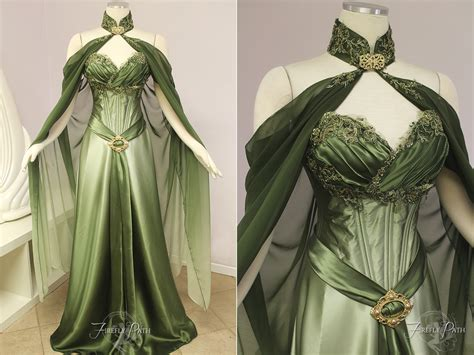 Elven Bridal Gown By Firefly-path On Deviantart