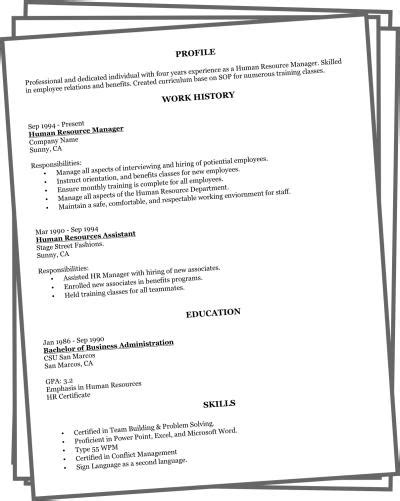 Easy Resume Maker by 55 Best Easy Resume Maker For Pics