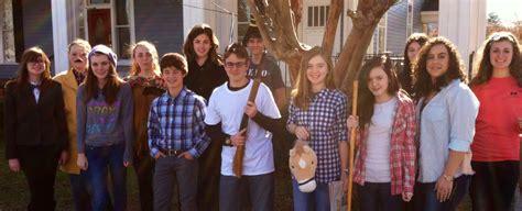 vha students portray trail tears vidalia heritage academy