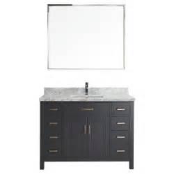 studio bathe vanity studio bathe kalize ii 48 in w x 22 in d vanity in