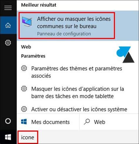 afficher le bureau windows 10 afficher l 39 icône ordinateur ce pc sur le