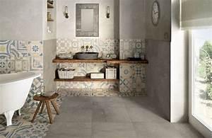 du nouveau dans votre salle de bains de luxe bain douch With carreaux de ciment espagne